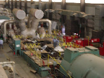 LP Turbines Disassembled