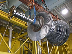 Moving LP Turbine Assembly